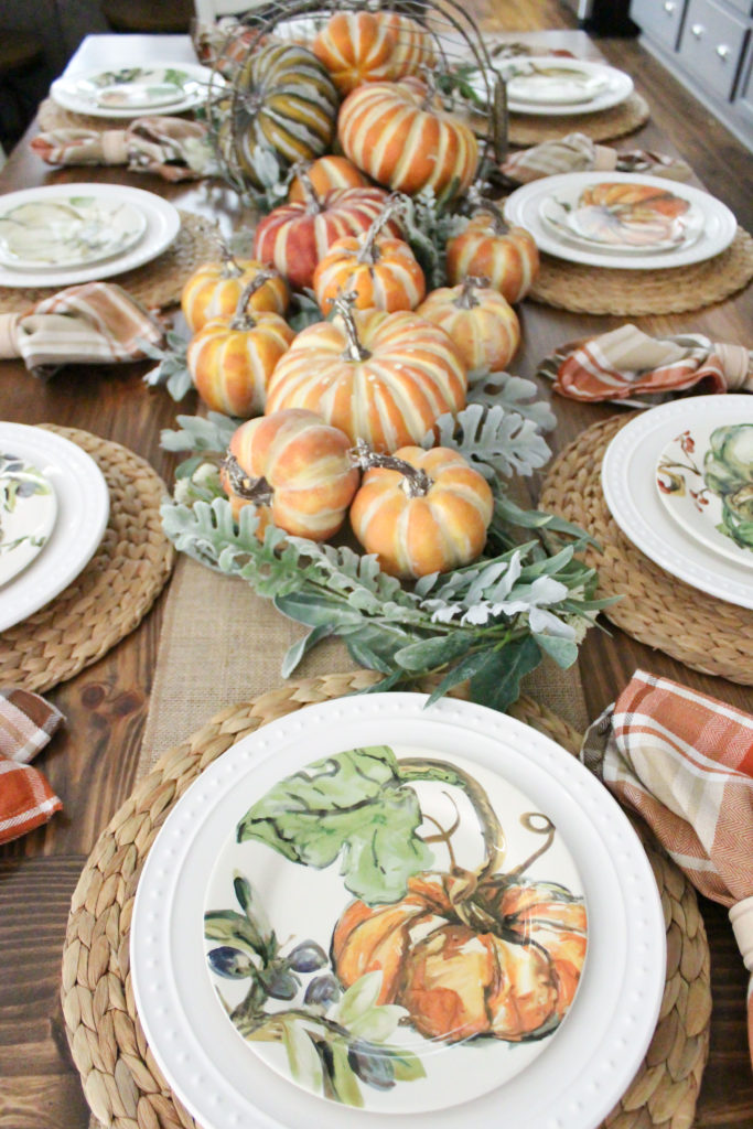 Fall Rustic Harvest Table Nature Inspired - TxSizedHome