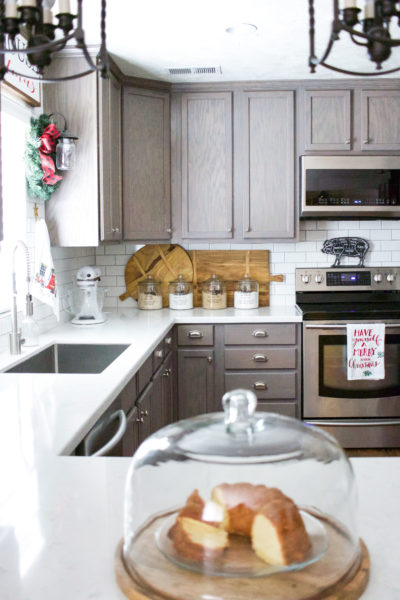 Christmas Farmhouse Kitchen Home Tour (Part 2)