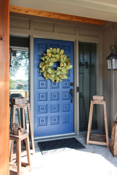 Front Door Refresh with JUST Paint