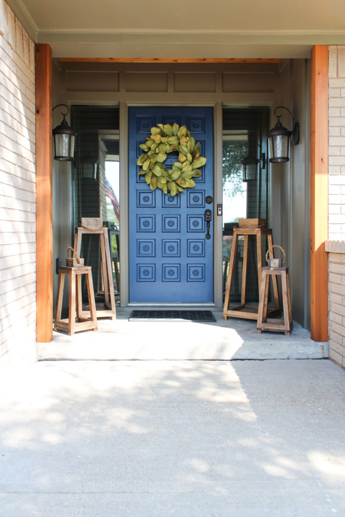 Front Door Refresh With Just Paint Txsizedhome