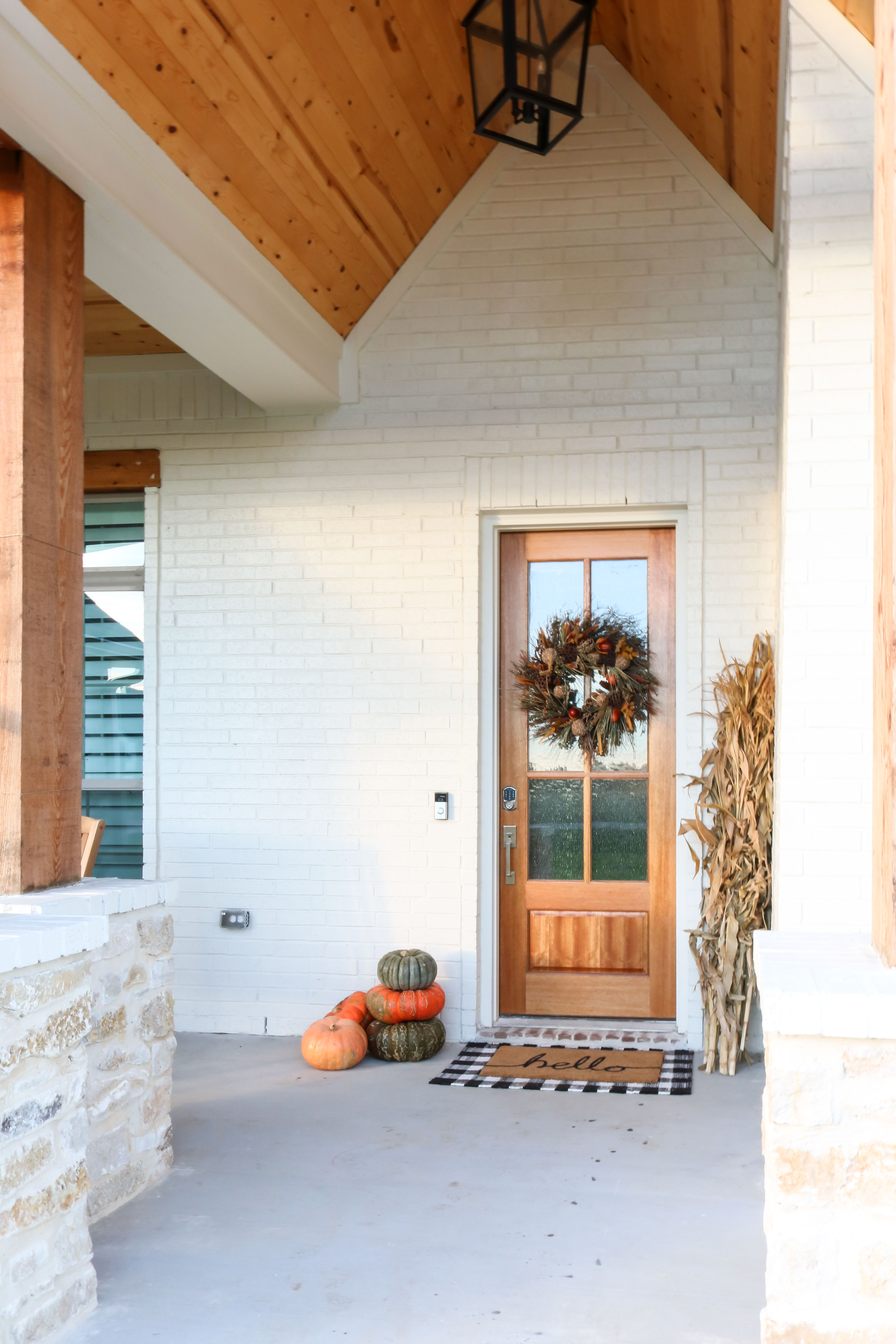 Layered Doormat Front Porch Txsizedhome